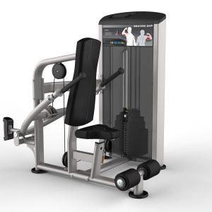 ماشین پشت بازو دیپ ( Seated Dip ) Impulse مدل IE9517
